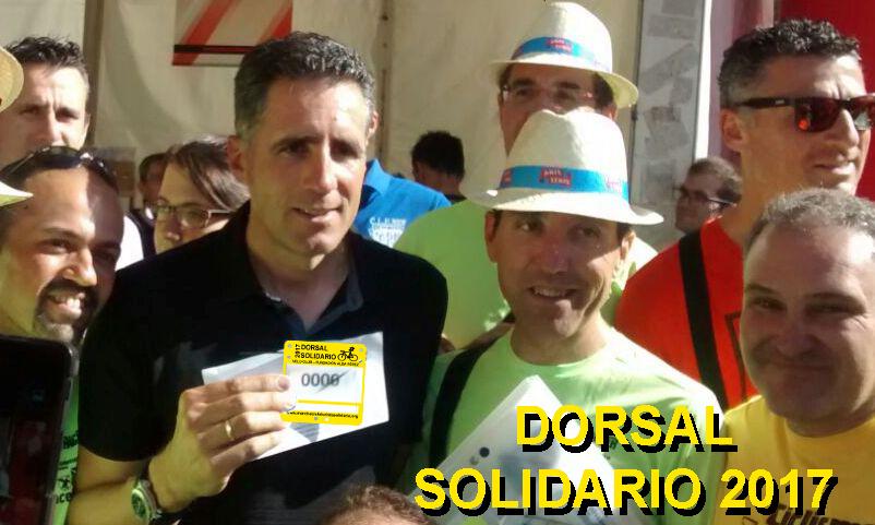 dorsal solidario ciclismo