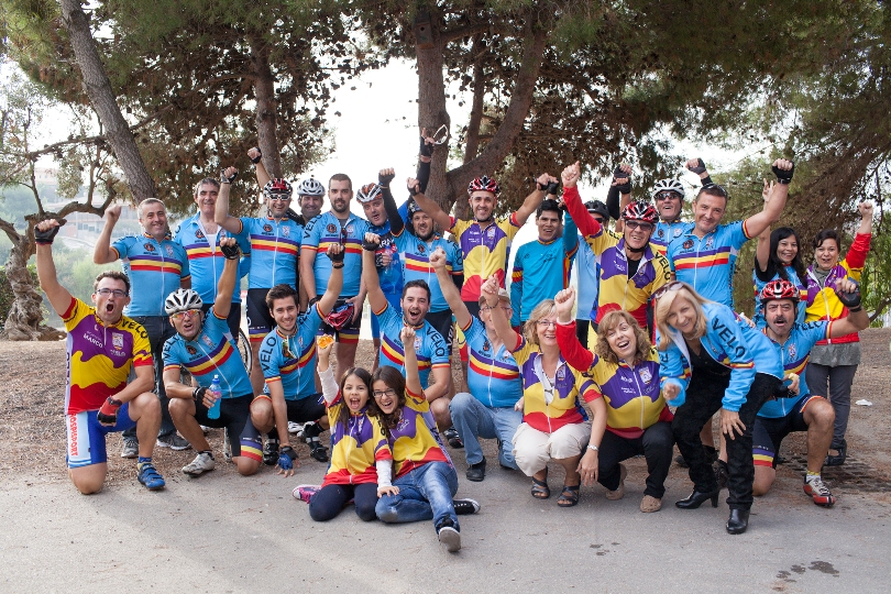 ciclismo solidario